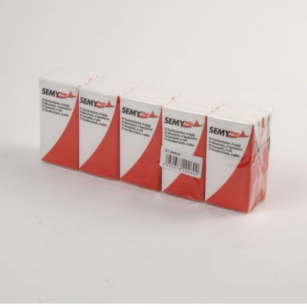 Taschentücher 4-lagig, 10er Packung