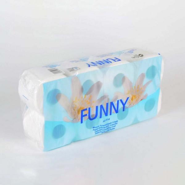 Toilettenpapier 3-lagig, Kleinrolle