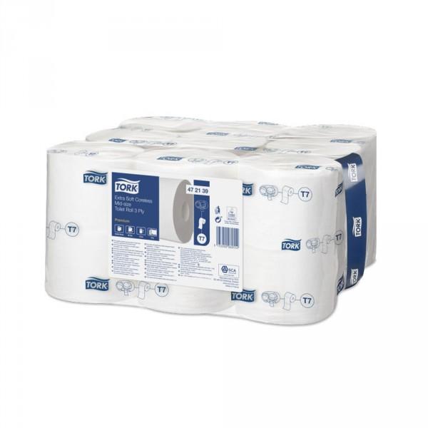 Tork hülsenloses Toilettenpapier 3-lagig T7