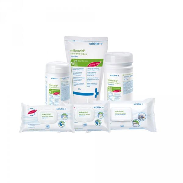 Mikrozid sensitive wipes, Desinfektionstücher - Softpack