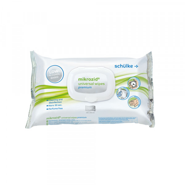 mikrozid universal wipes - Desinfektionstücher Softpack