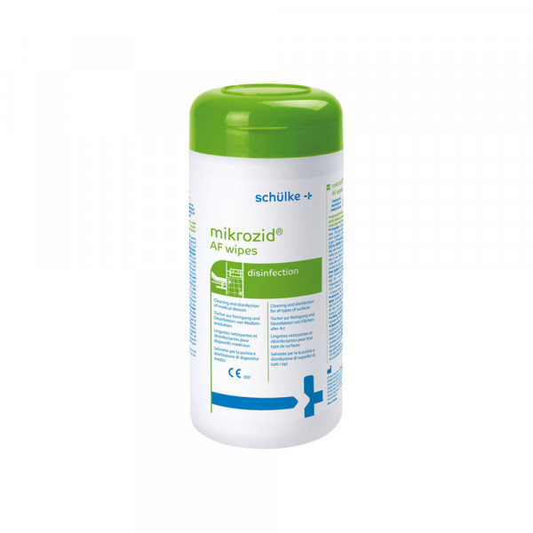 mikrozid AF wipes - Desinfektionstücher Spenderdose
