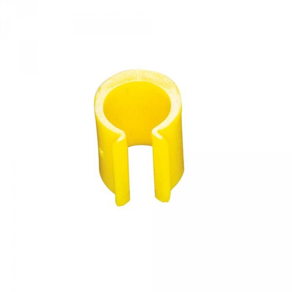 Halteclip für Müllsäcke, gelb